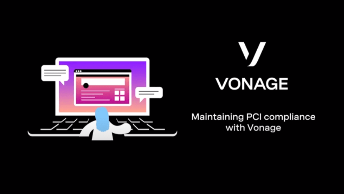 Cover slide for Maintaining PCI compliance with Vonage demo video