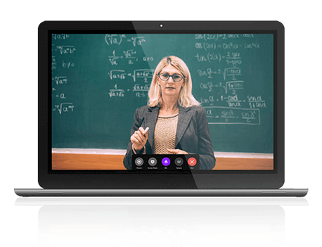 Teaching over live video